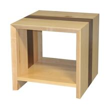 Waterfall Straight End Table