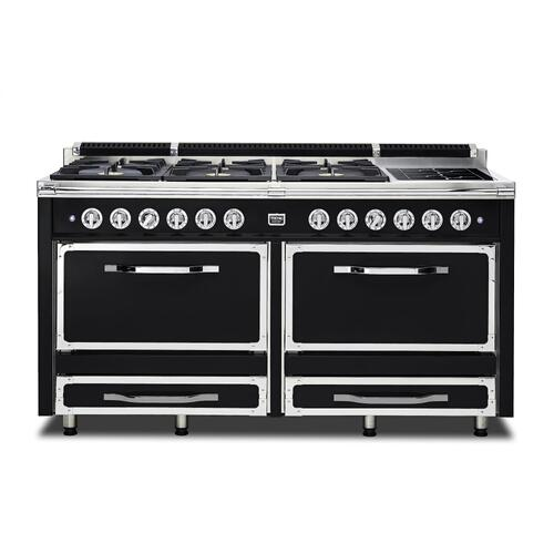 """66""""W. Tuscany Range - TVDR660 Bordeaux finish has been discontinued. See dealer for stock."""