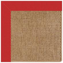 "Islamorada-Basketweave Canvas Jockey Red - Misc. - 12"" x 12"""