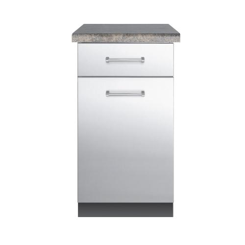 "30""D. Base Cabinet - VBO1811 Outdoor Stainless Steel Cabinets"