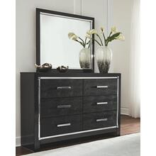 View Product - King Panel Bed With Storage With Mirrored Dresser, Chest and 2 Nightstands