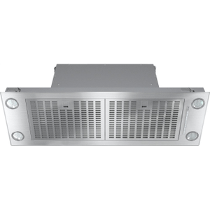 MieleDA 2390 - Insert ventilation hood with energy-efficient LED lighting and backlit controls for easy use.