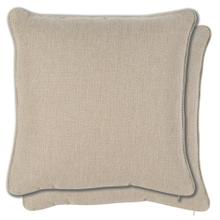 Accessories 20 Pair Sq. Welt No Pleats Pillows