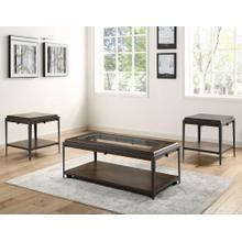 Waco 3-Piece Occasional Set (Cocktail Table & 2 End Tables)