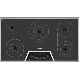 Thermador - 36 inch Masterpiece® Series Electric Cooktop CET366NS