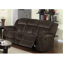 SU-ZY660 Collection  Reclining Sofa in Chocolate