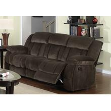 Reclining Sofa - Chocolate (Teddy Bear Collection)