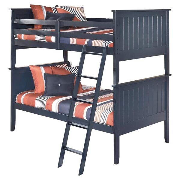 Leo 3-piece Twin Over Twin Bunk Bed