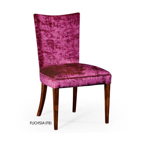 Biedermeier style mahogany dining side chair (Fuchsia)