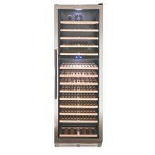 See Details - 154 Bottle DESIGNER Series Dual-Zone Wine Cooler