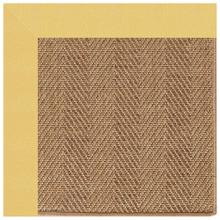 "Islamorada-Herringbone Canvas Canary - Rectangle - 24"" x 36"""