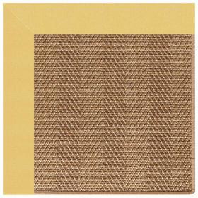 "Islamorada-Herringbone Canvas Canary - Rectangle - 24"" x 36"""