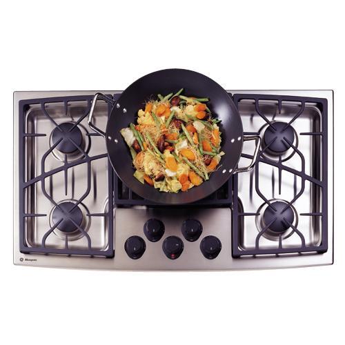 "GE Monogram® 36"" Stainless Steel Gas Cooktop (Natural Gas)"