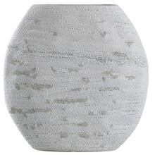 DELPHI VASE- SHORT  Cream Finish on Ceramic