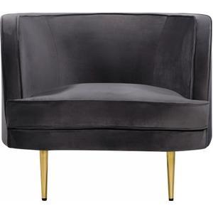 "Vivian Velvet Chair - 37"" W x 29.5"" D x 30"" H"