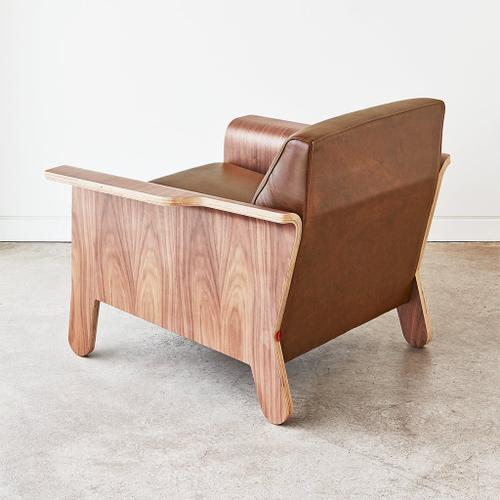 Product Image - Lodge Chair Andorra Pewter / Walnut