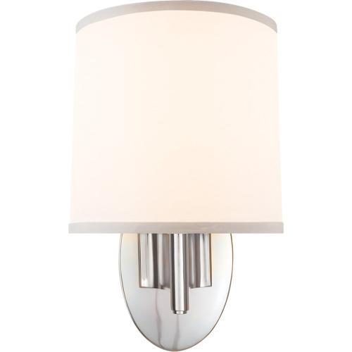 Visual Comfort BBL2038SS-S Barbara Barry Graceful Ribbon 1 Light 7 inch Soft Silver Decorative Wall Light