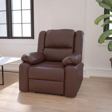 Harmony Series Brown LeatherSoft Recliner