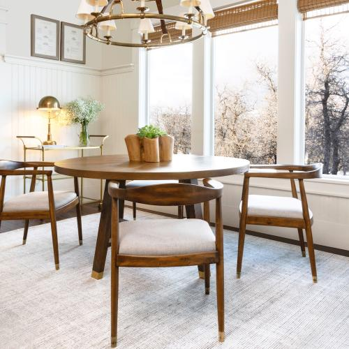 """Gallery - Cypress 60"""" Round Dining Table"""