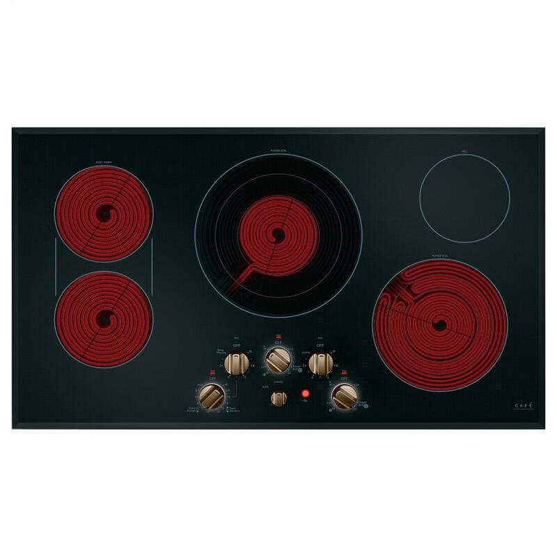 "Café 36"" Knob-Control Electric Cooktop"