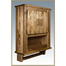 Homestead Bathroom Wall Cabinet, Stained & Lacquered