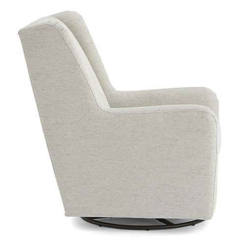 Best Home Furnishings - BRIANNA Swivel Glide Chair