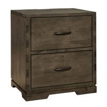 View Product - Dovetail Nightstand  Graphite Graphite