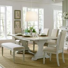 View Product - Opt 6 Piece Trestle Table Set