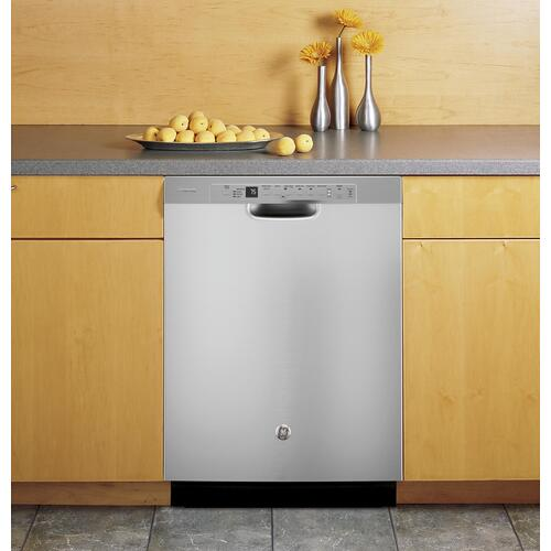 GE Profile - GE Profile™ Stainless Steel Interior Dishwasher with Front Controls