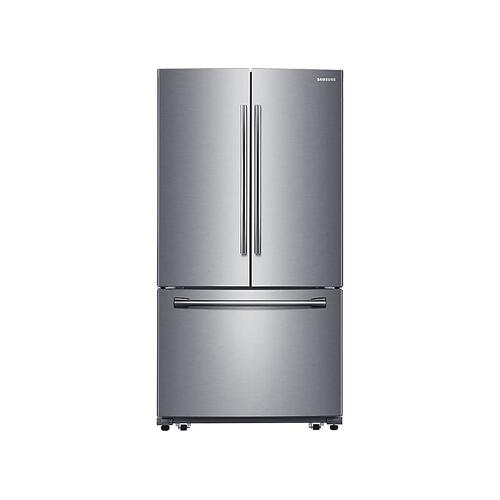 26 cu. ft. French Door with Filtered Ice Maker (This is a Stock Photo, actual unit (s) appearance may contain cosmetic blemishes. Please call store if you would like actual pictures). This unit carries our 6 month warranty, MANUFACTURER WARRANTY and REBATE NOT VALID with this item. ISI 37411 W