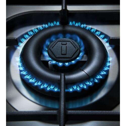 "40"" Inch Glossy Black Liquid Propane Freestanding Range"