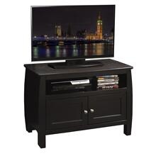 "Curve 34"" TV Cart, Mocha"