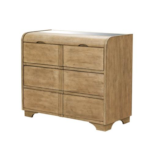 Three Drawer Chest with Jewelry Storage
