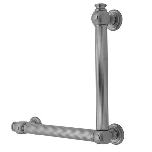 Polished Nickel - G61 32H x 32W 90° Grab Bar