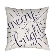"""Merry and Bright HDY-122 18""""H x 18""""W"""