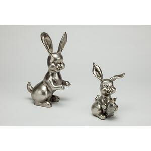 "Artmax - ""Funny Rabbit"" - Set of 2 8x6x13"" & 6.5x6x8"""