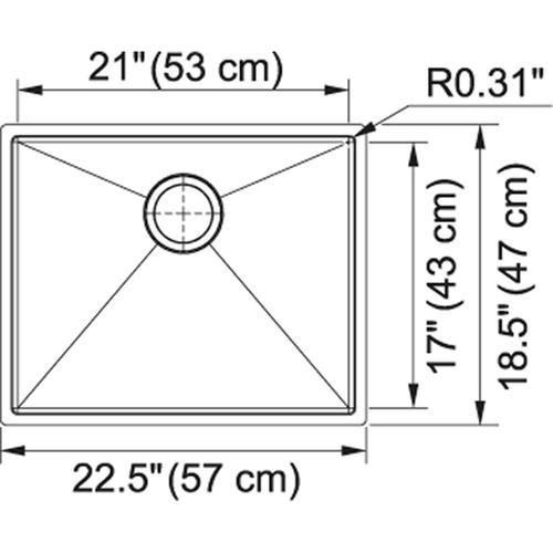 Planar 8 PEX110-21 Stainless Steel