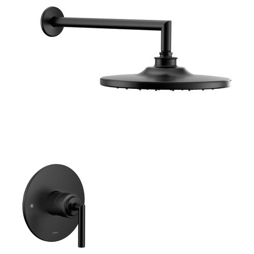 Arris matte black m-core 3-series shower only