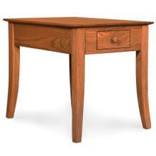 "See Details - Loft Leg 1-Drawer End Table, 16""w x 26""d x 22""h"