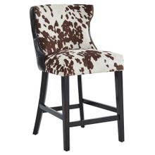 Angus 26'' Counter Stool, set of 2 in Brown