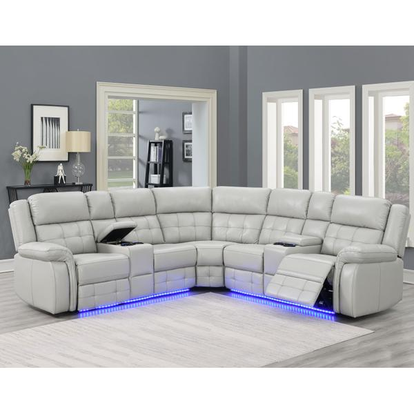 See Details - Durango 3-Piece Sectional (LAF & RAF Loveseat & Wedge)