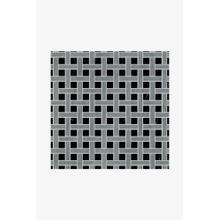 Luminaire 1cm x 5cm Basketweave Mosaic in Gascogne Blue
