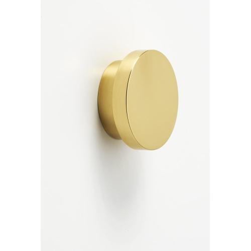 Redondo Knob A450-38 - Polished Brass