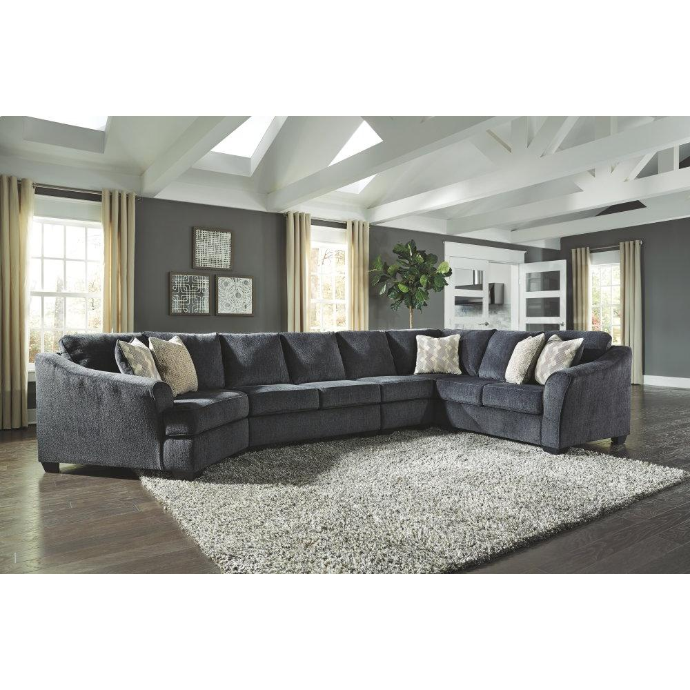 Product Image - Eltmann 4-piece Sectional With Cuddler
