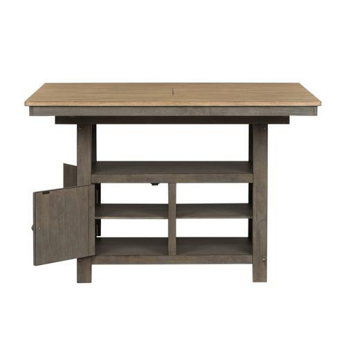 Liberty Furniture Industries - 7 Piece Gathering Table Set