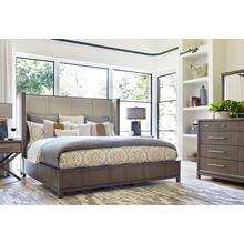Product Image - Upholstered Shelter Bed, King 6/6