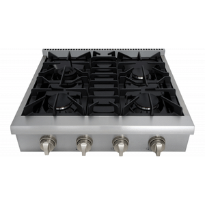 Thor Kitchen - 30 Inch Professional Gas Rangetop In Stainless Steel