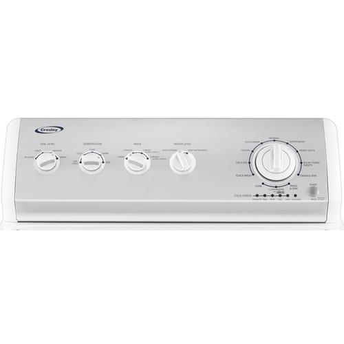 Crosley - Crosley 3.5 Cu. Ft. Capacity Washer : Extra Large Capacity Top Load Washer - White