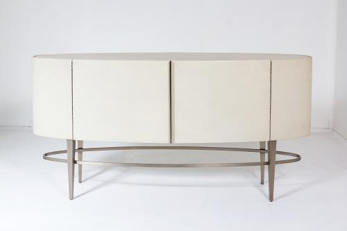Ellipse Sideboard-Ivory