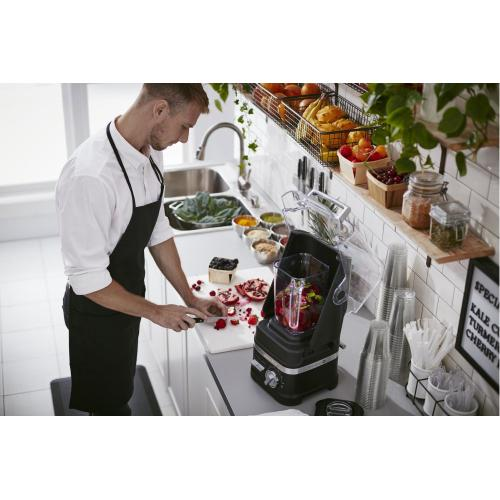 NSF® Certified Commercial Enclosure Blender - Black Matte
